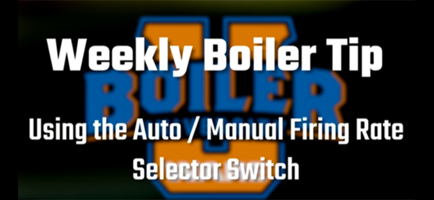 Using the auto/manual firing rate selector switch - video from WARE