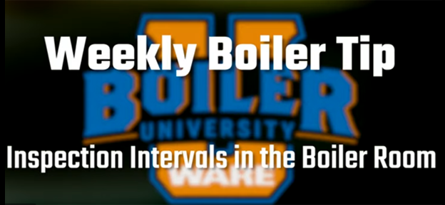 Inspection Intervals in the Boiler Room - video by WARE