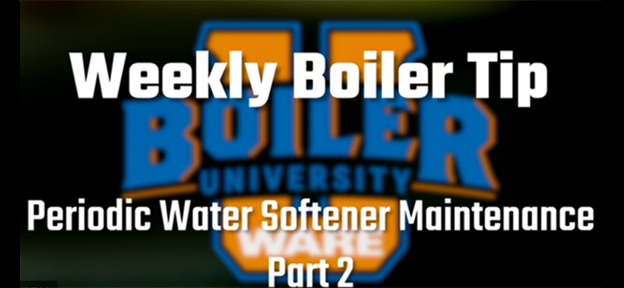 Periodic Water Softener Maintenance: Part 2 - video by WARE