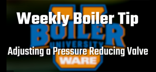 Adjusting a pressure-reducing valve - video from WARE