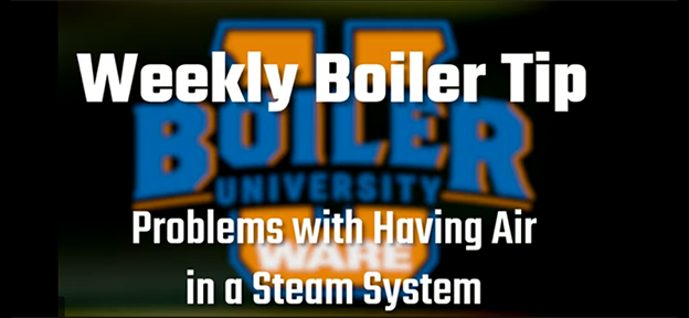 Problems with having air in a steam system - video by WARE